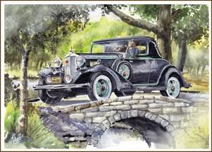LaSalle convertible 1933
