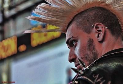 NYC Punk Rocker