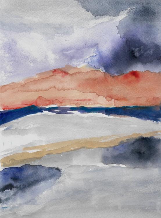 Watercolored Landscape