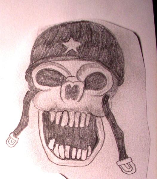 War Monger Skull