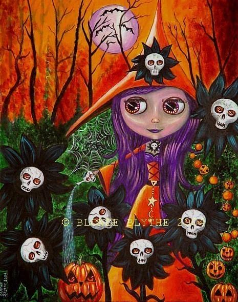 Halloween Blythe Witch & the Haunted Garden