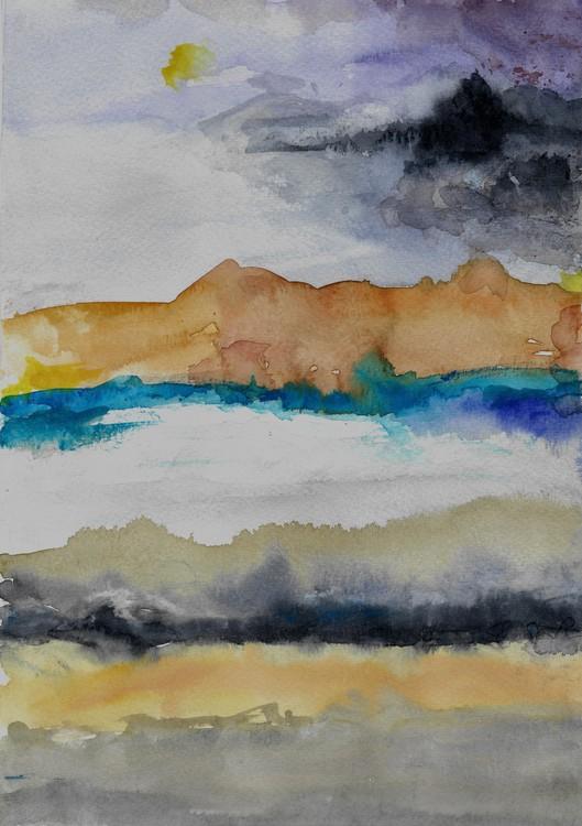 Watercolored Landscape 2