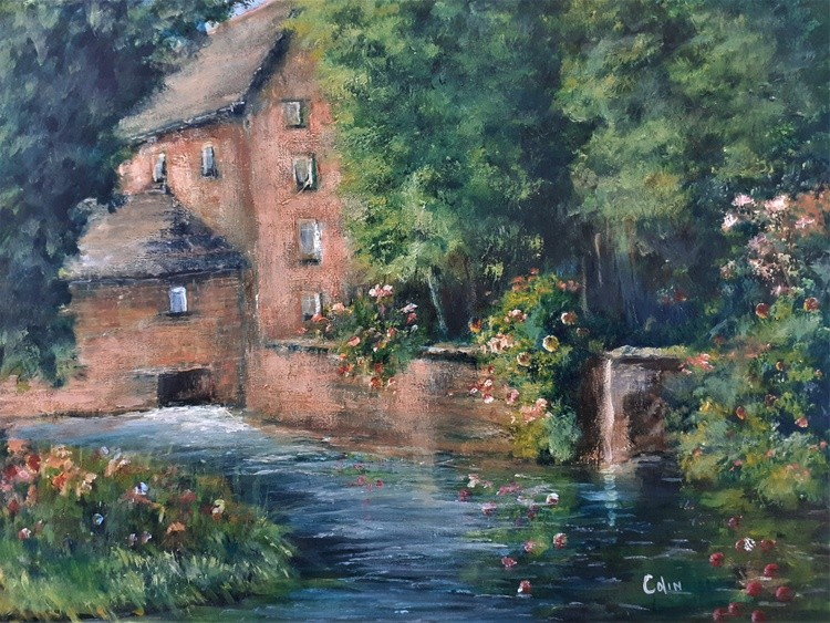 Down the watermill
