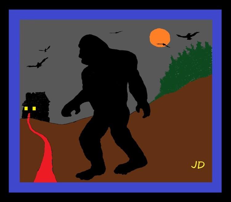 Bigfoot on the loose