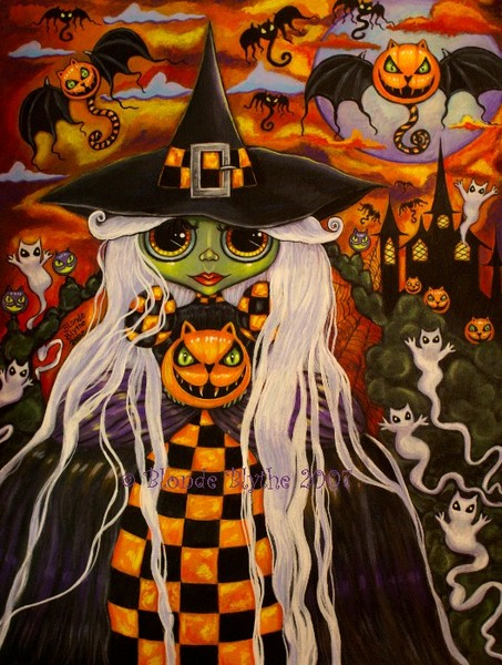 Checkerboard Witch
