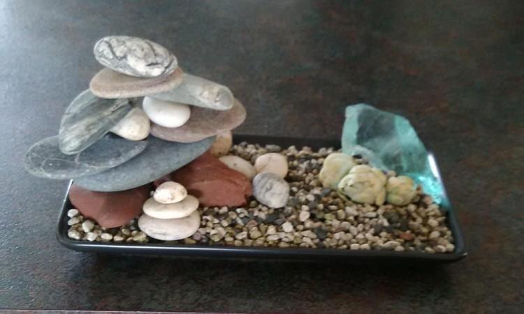 My miniture Zen garden