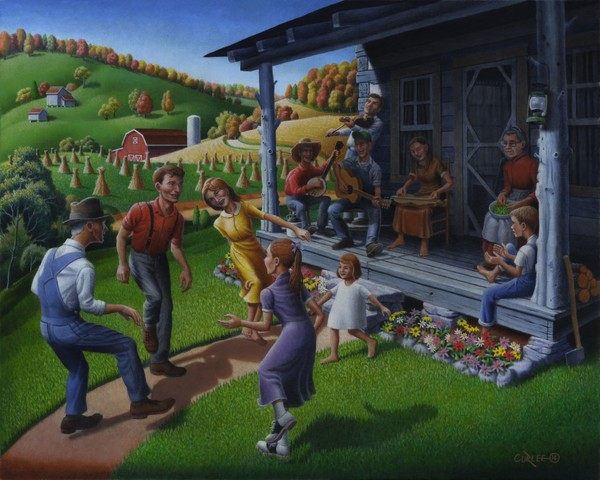 Porch Music and Flatfoot Dancing - Mountain Music