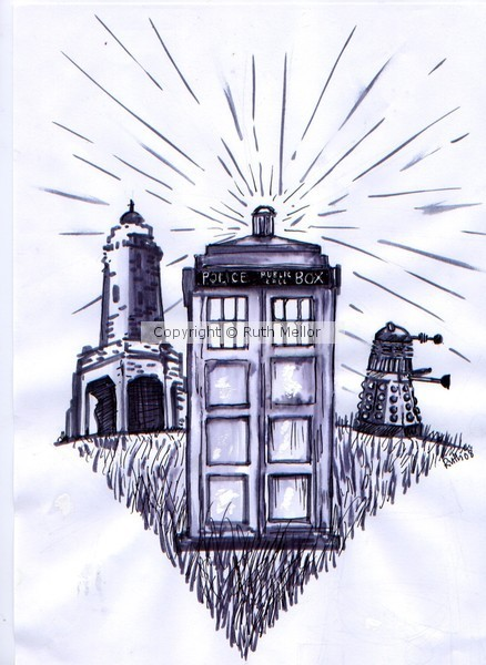 Dr Who Convention Cover