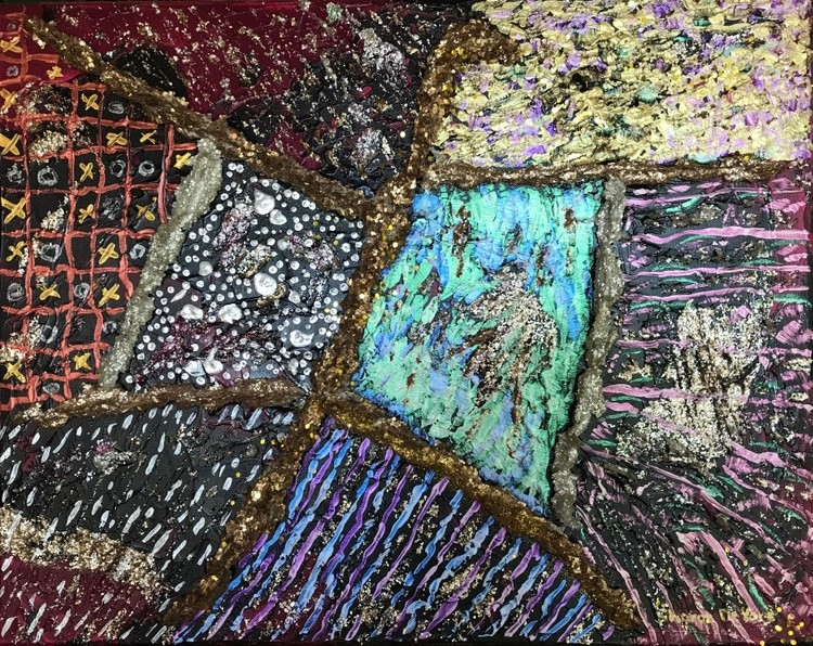 Abstract Patchwork Quilt 2