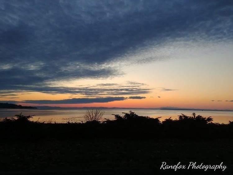 Sundown at White Rock, BC, Canada
