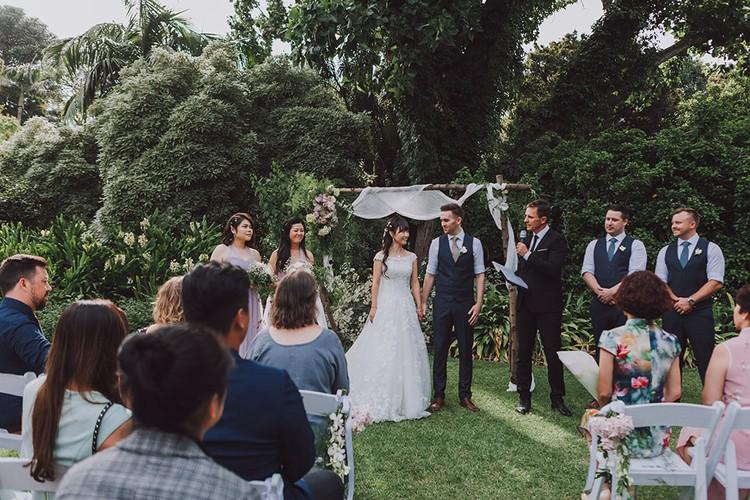 VIVIAN + CALUM'S WEDDING