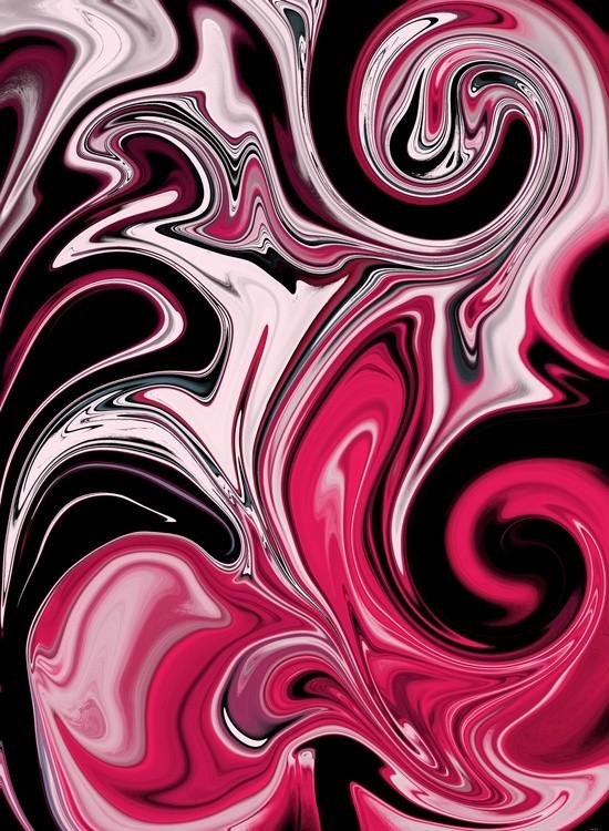 StrawberryMint Swirl