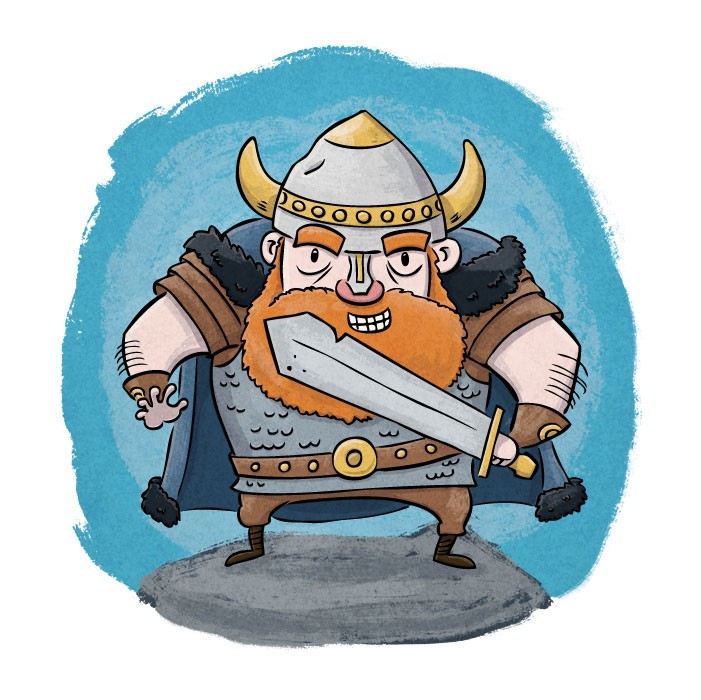 Оригинальных, открытки викинги