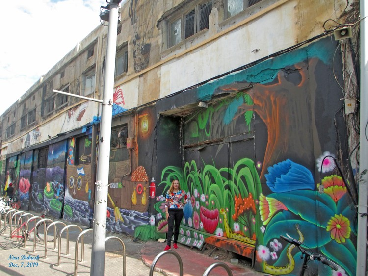 Art on Walls of Jaffa