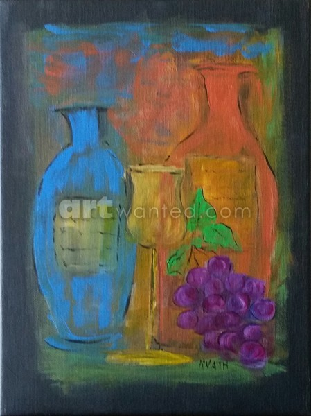 Wine Time Contemporary SOLD