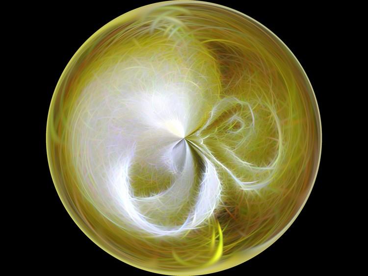 Morphed Art Globe 8