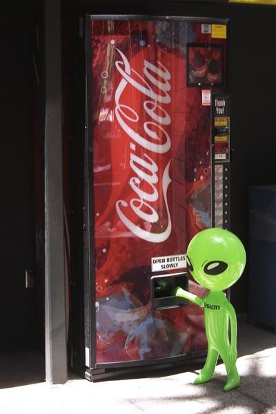 Thirsty Alien