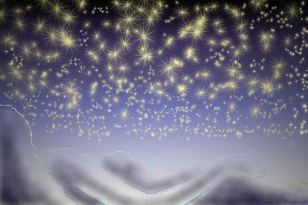 STARS MANY STARS, SUDDENLY...NOT FEEL ALONE.