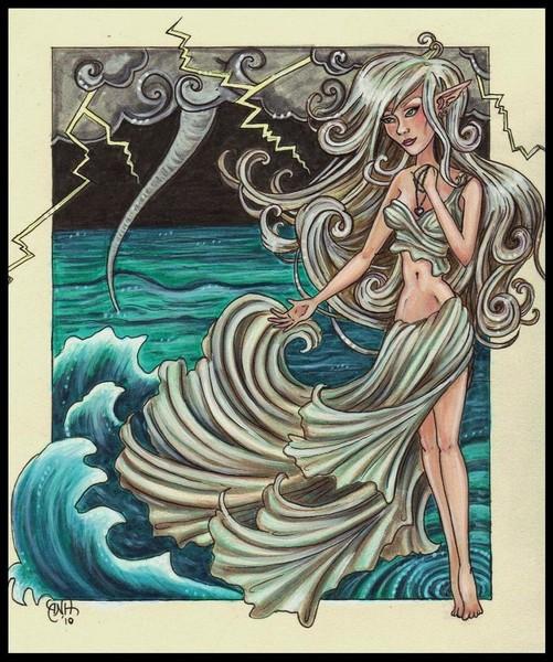 Богиня моря калипсо картинки высокого разрешения
