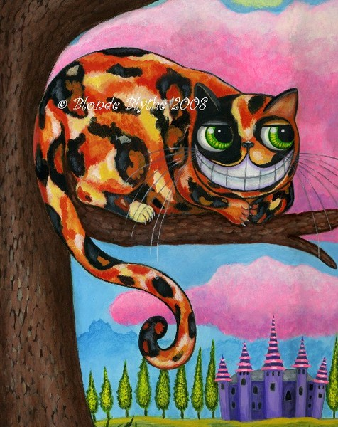 Calico Cheshire Cat