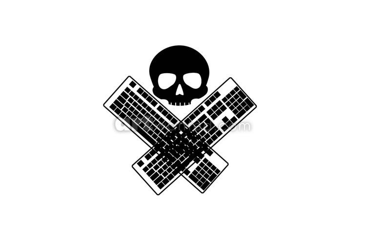 Skull & CrossKeyboards