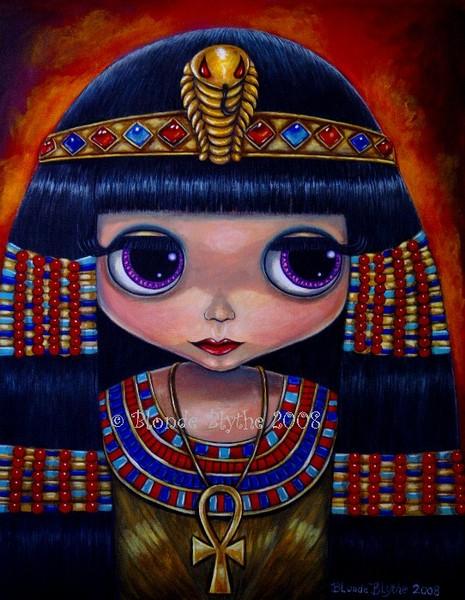 Cleopatra Blythe Doll