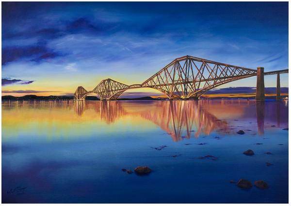 'Reflections in The Forth'