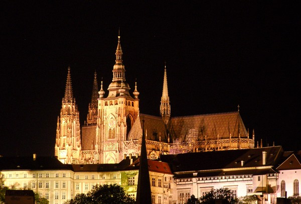 St Vitus Cathedral at Night