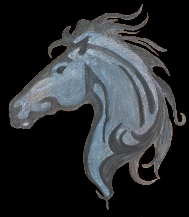 Dramatic Horse Design