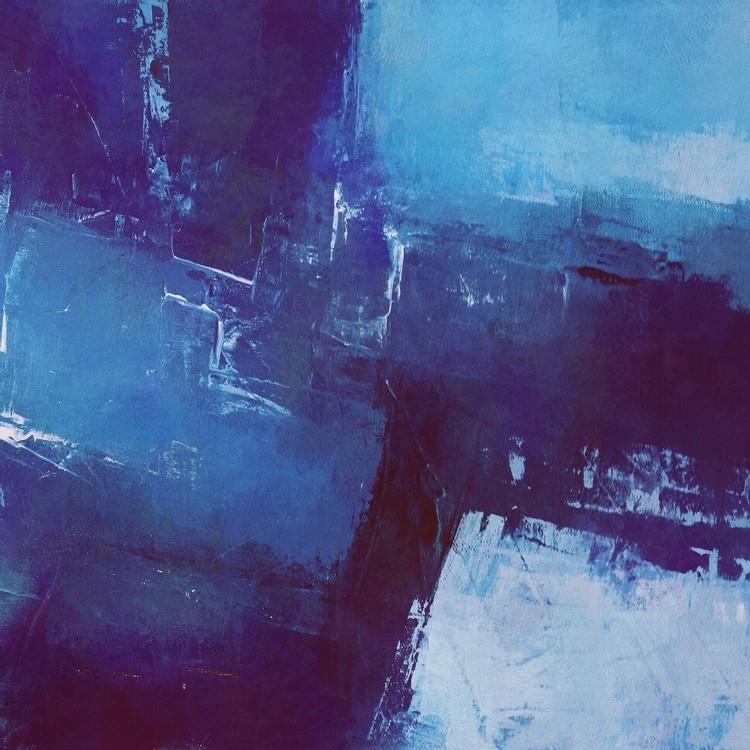 Geometric in Blue Tones