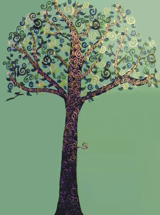 Tree of Dreams series, Green and Gold