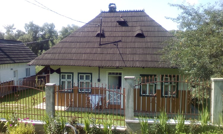 Small traditional house northern Romania