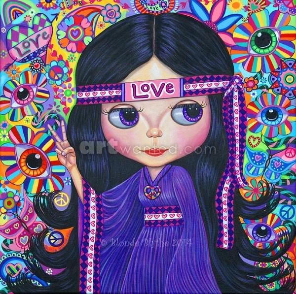 Love Hippie Blythe Doll
