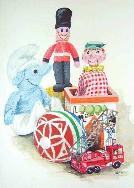 My kids toys
