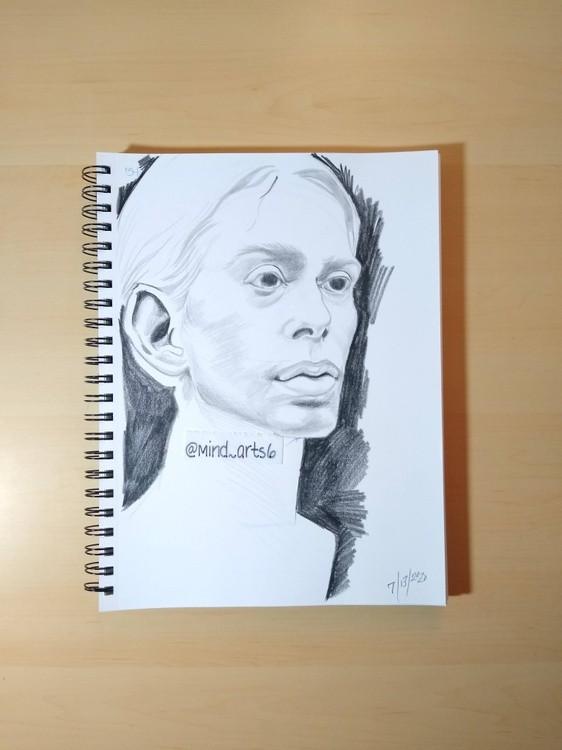 page 10 head sketch