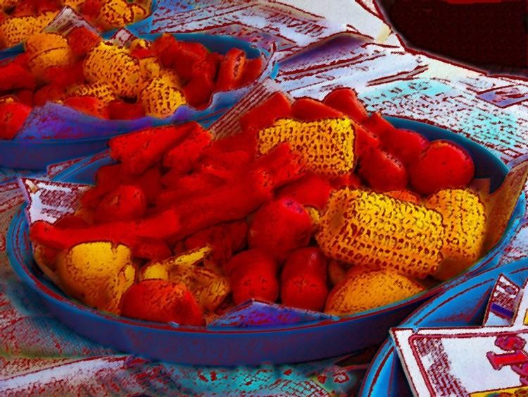 aw 100 171 pastels winnes sausage potatoes corn