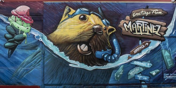 Mural at 741 Green Street,