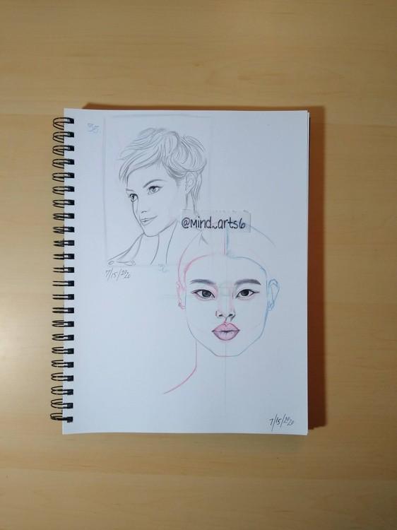 page 11 head sketch
