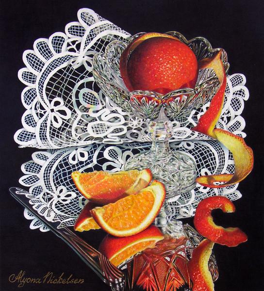 """Curve Appeal"" by Alyona Nickelsen   ArtWanted.com"
