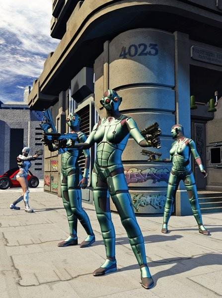 Urban chaos - Cyborg's rebellion