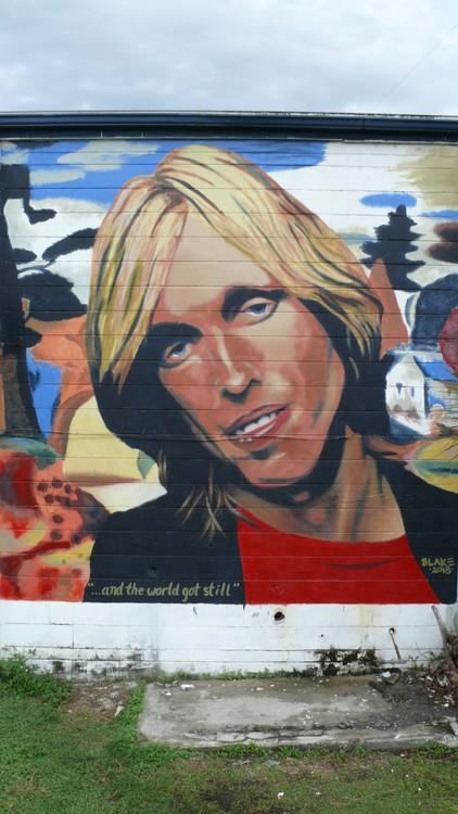 Tom Petty Mural