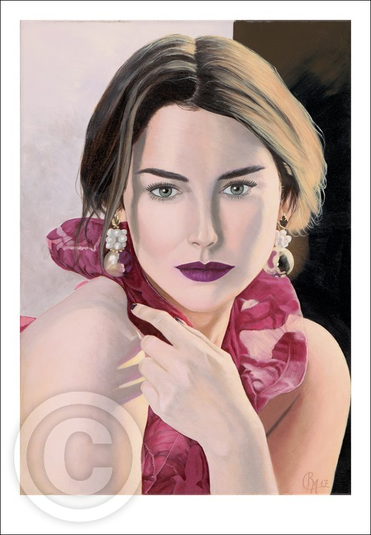 Serena Giclee print