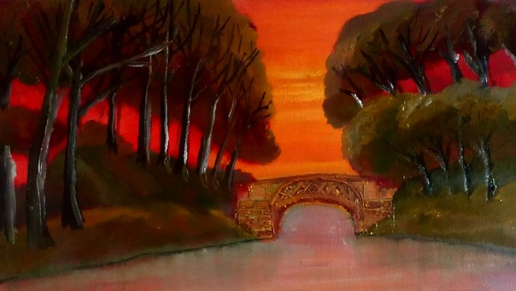 Forest. Bridge