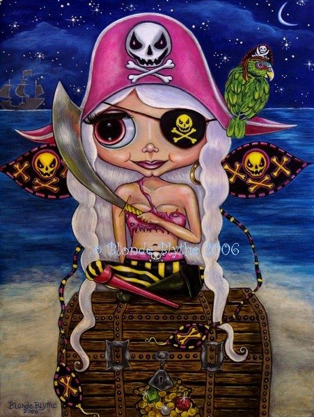 Pink Pirate Fairy