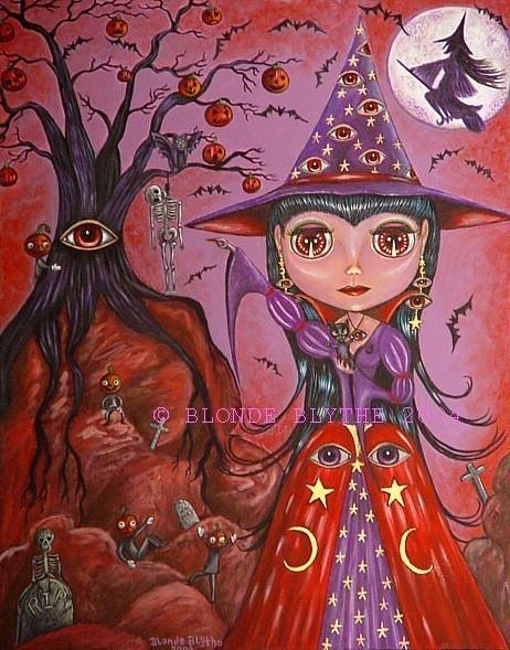 Halloween Blythe Eye Witch
