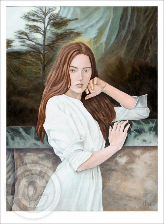 Aura Giclee print