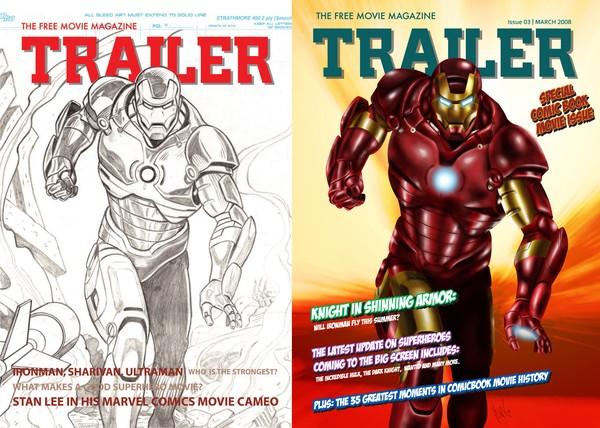Ironman for Trailer magazine