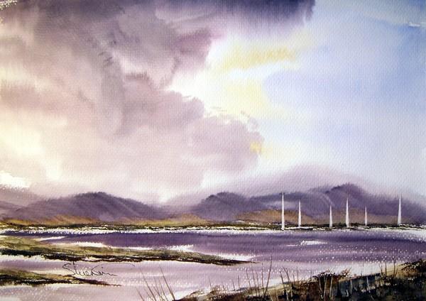Storm Clouds 15 Quot X 11 Quot Watercolour Painting By Steven