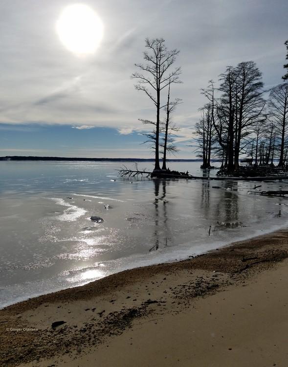 The Frozen James River