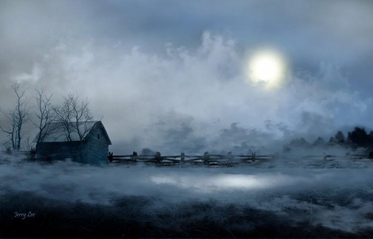 Moonlight Fog